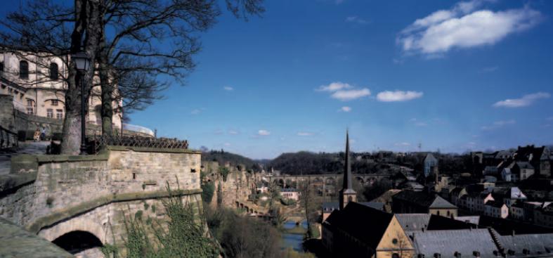 Großherzogtum Luxemburg, die wirtschaftliche Entwicklung des Landes